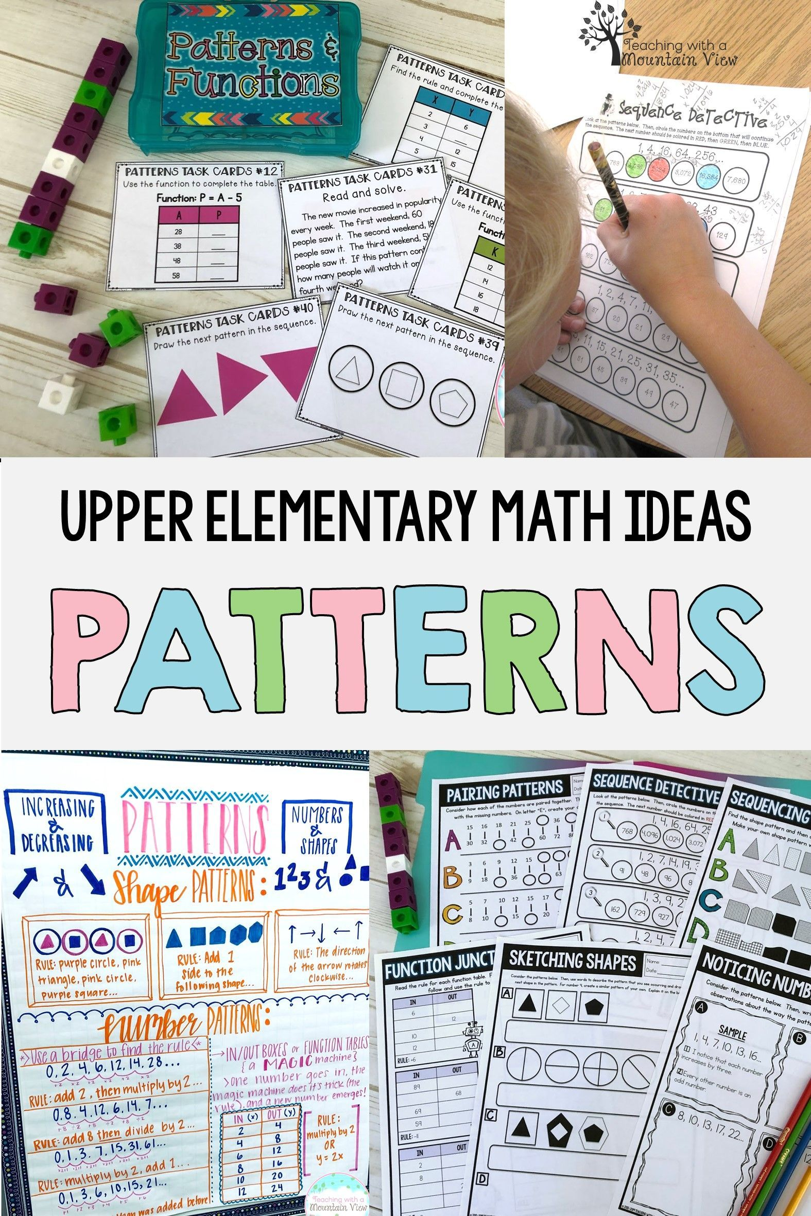 Patterns Amp Coordinate Graphing With Images