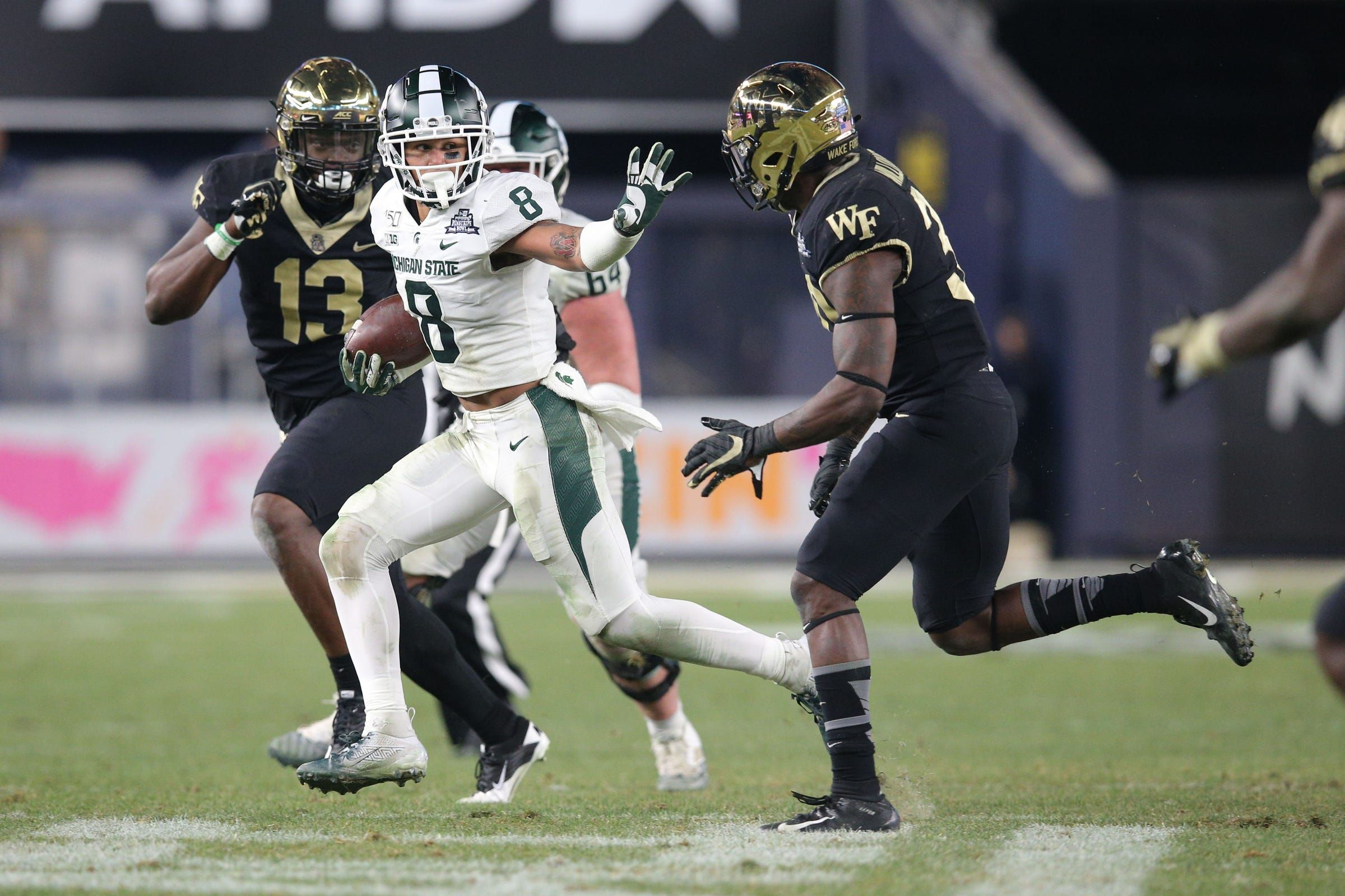 Michigan state football youngsters hope to have 2020