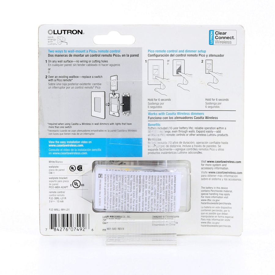 Shop Lutron Caseta 1 Switch 3 Way 4 Double Pole White Indoor Remote Control Light At Lowescom