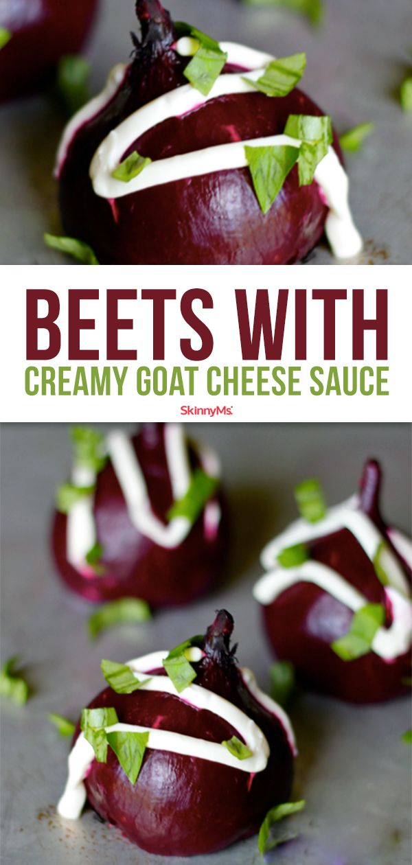 Photo of Slow Cooker Beets with Creamy Goat Cheese Sauce
