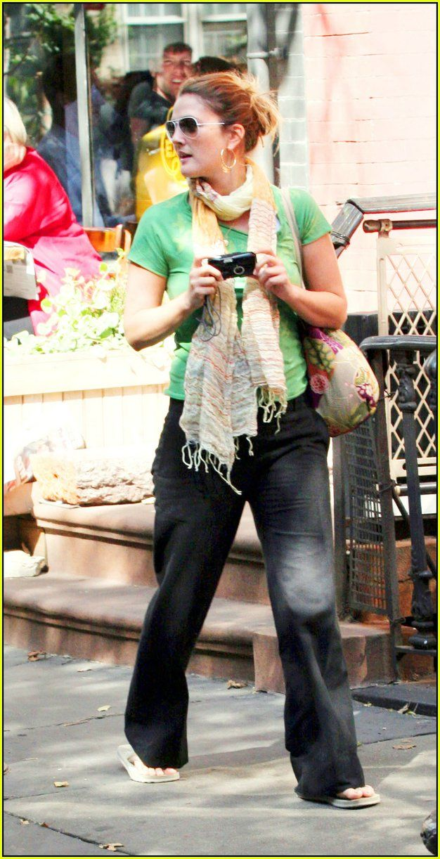 Drews Paparazzi Snapshots Drew Barrymore Sarah Jessica Parker