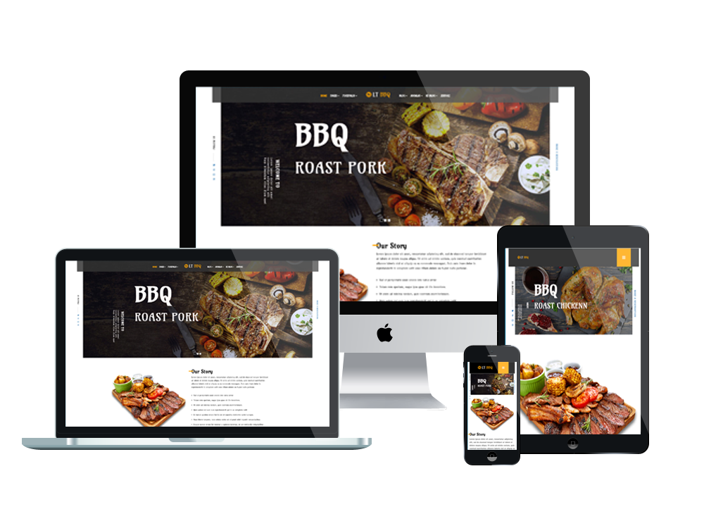 Lt Bbq Free Responsive J2store Restaurant Joomla Templates Wordpress Theme Restaurant Wordpress Themes Restaurant Themes