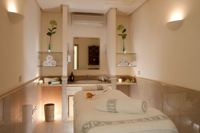 Sala de masajes de fuerte miramar spa pinterest sala de masaje estetica y decoracion spa - Decoracion centro estetica ...