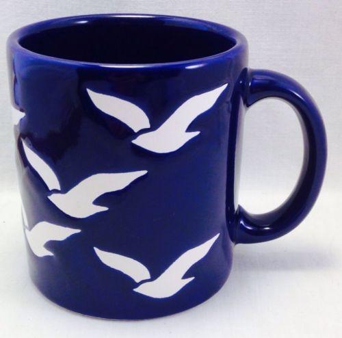 Vintage Waechtersbach W Germany Seagull Nautical Coffee