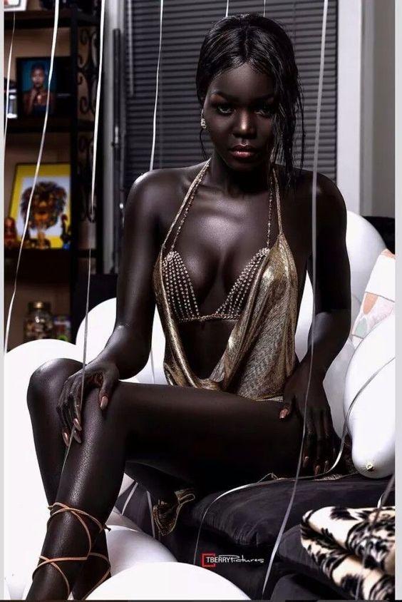 Hot Melanina Black Model  Beautiful Black Women, Dark Skin Women, Black Magic Woman-6877
