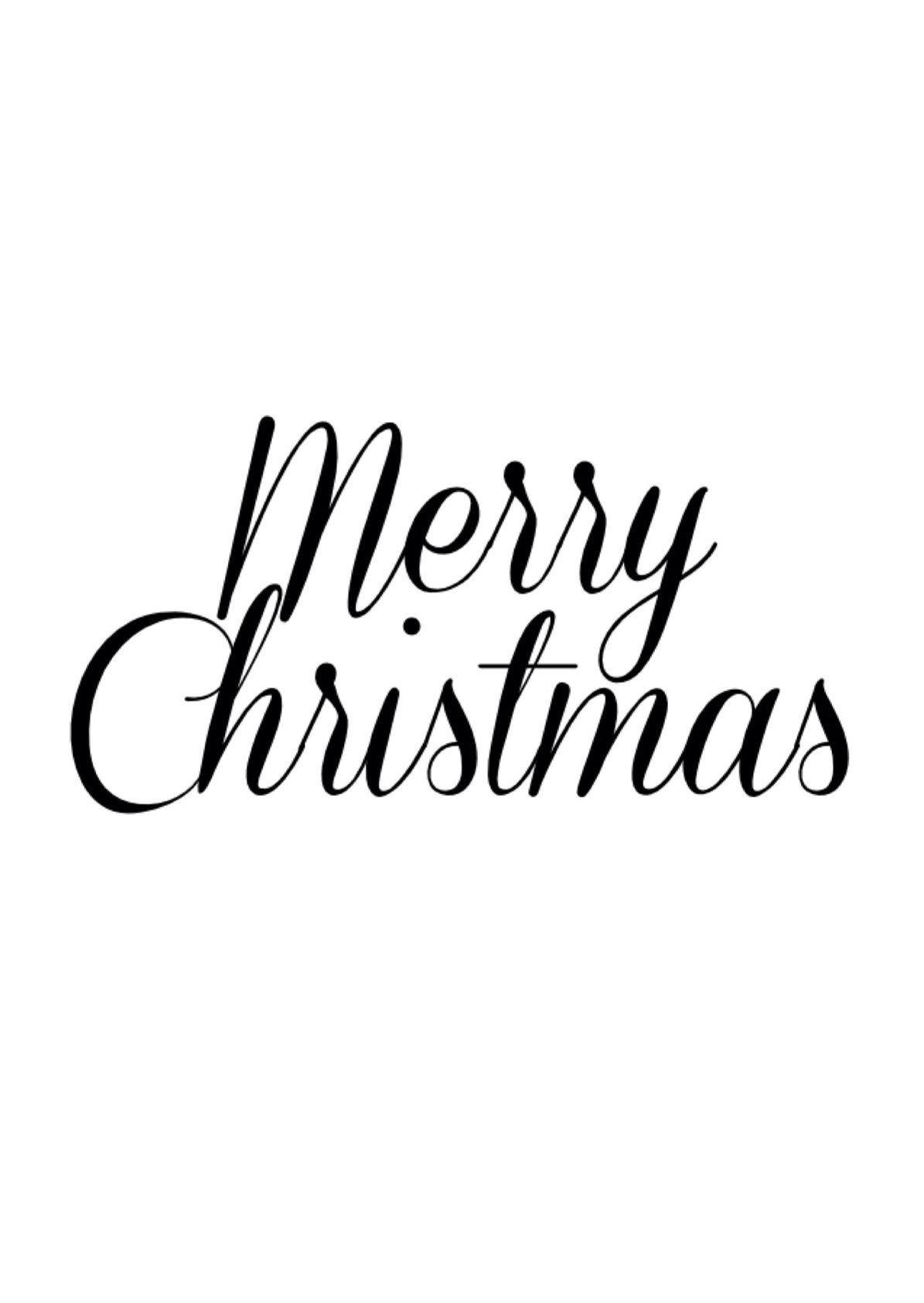 Merry Christmas xx GfG Jewellery Word
