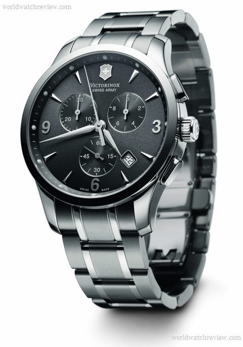 Swiss Army Victorinox Alliance Chronograph. Classy streamlined approach to  a swiss army. 2252461a015