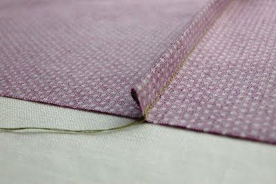Sew to Speak: How To: Sew a French Seam, including how to