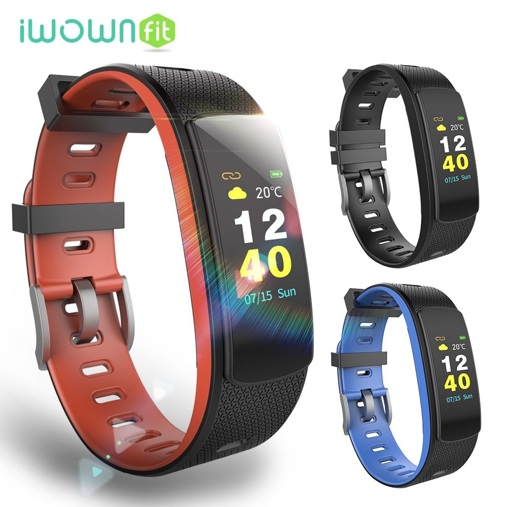 iWOWNfit i6 HR C Smart Watch Pedometer Color Screen