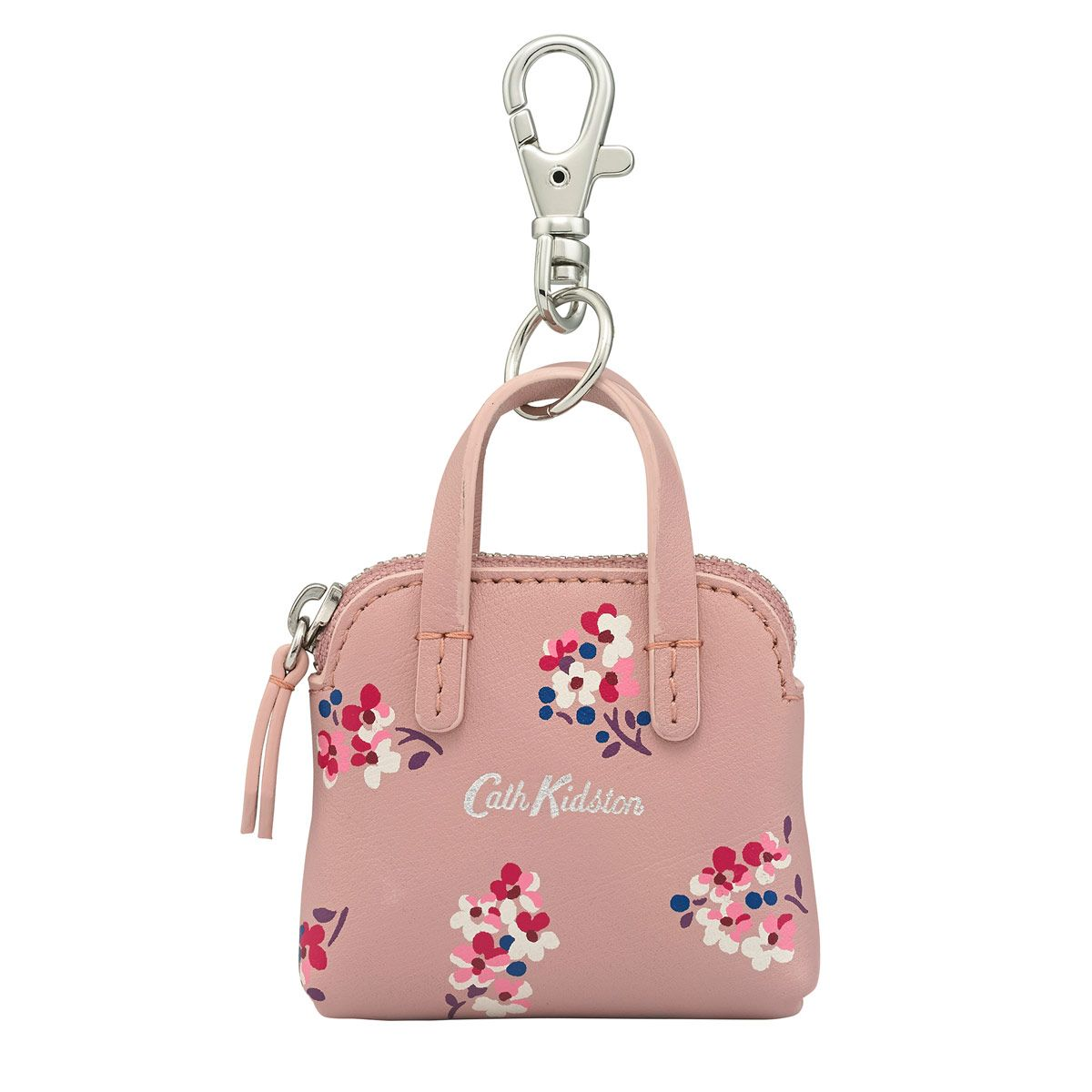 ddad997b832177 Woodstock Ditsy Giles Mini Leather Handbag Keyring | Keyrings & Bag Charms  | CathKidston