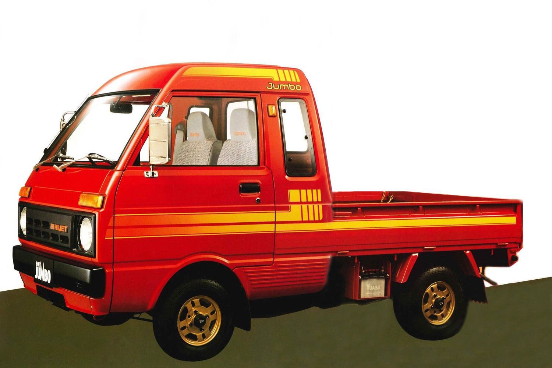 Daihatsu Hijet Jumbo S65 Pikap Avtomobil
