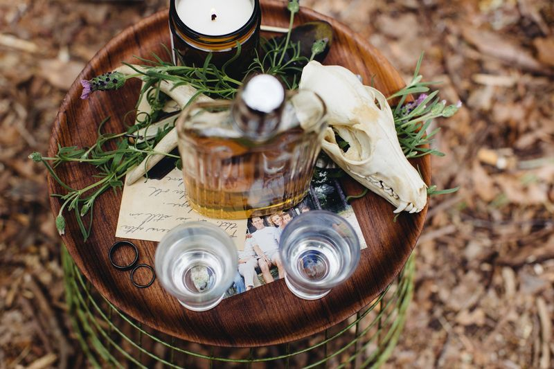 """It turns out our dream wedding looked a lot like our dream vacation: chill, surrounded by nature, well-designed, drinky."""