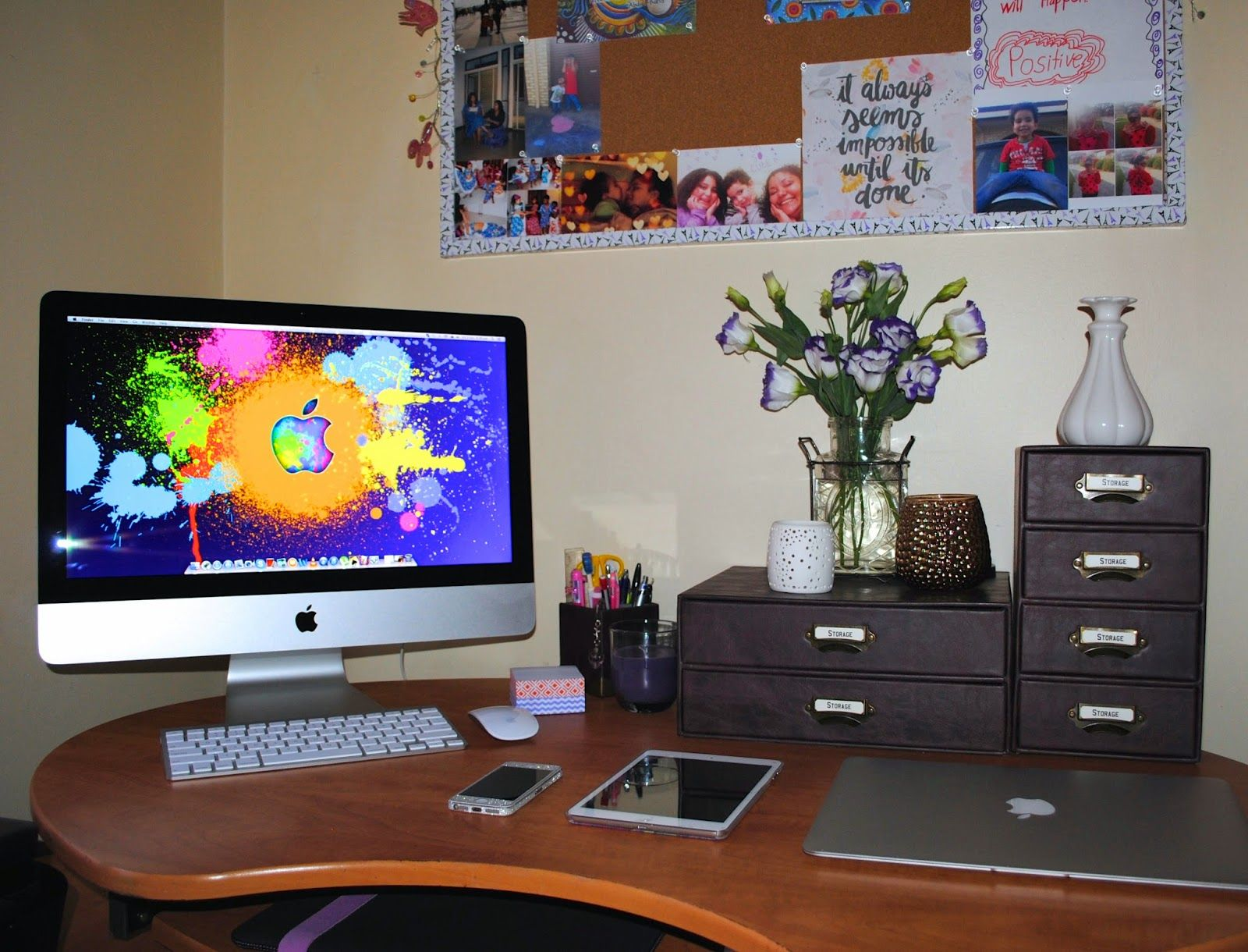 Sabby S Home Office Mac Setup Mac Setup Imac Apple Hardware