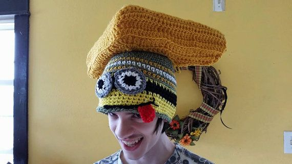 Cheesehead Packer Minion Hat