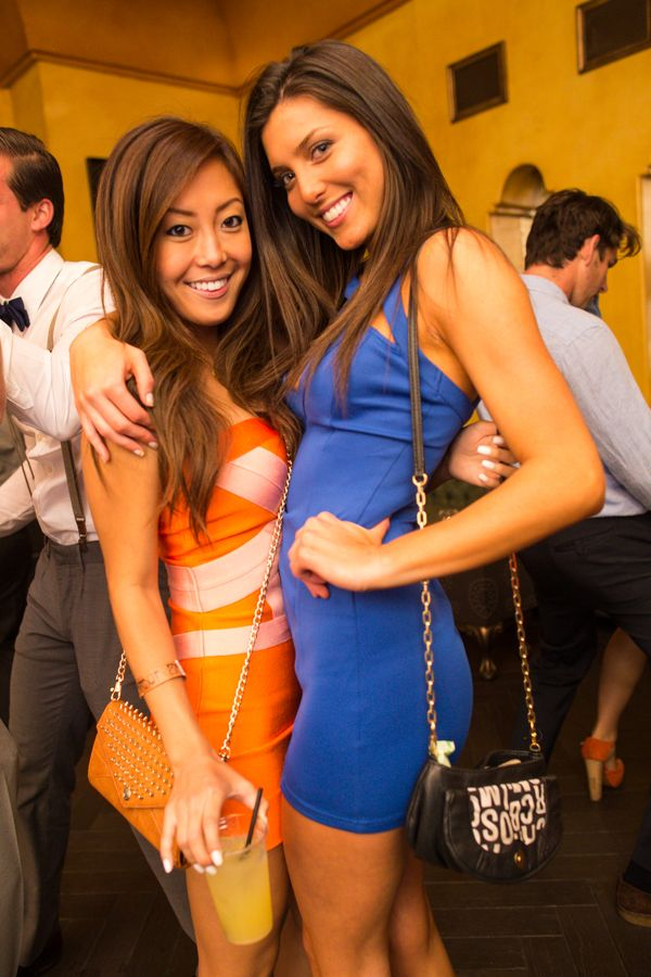 Asian girl college party