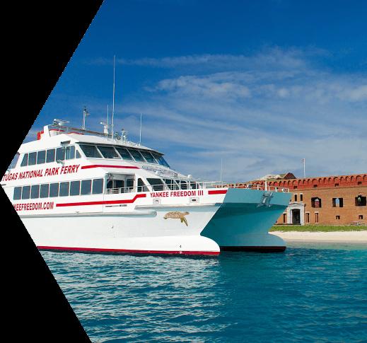 Key West Ferry Key West Catamaran Yankee Freedom Dry Tortugas National Park Key West Ferry National Parks