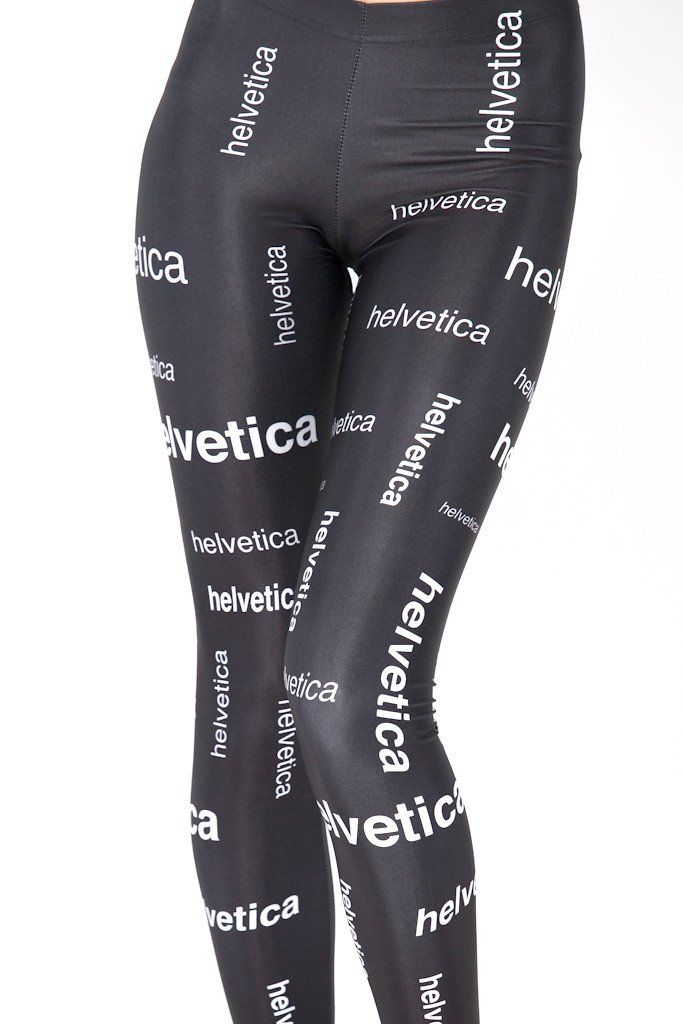 424ad40cf3943 Helvetica Leggings | My Wardrobe. Clothes ♔↣♥ | Leggings, Women's ...