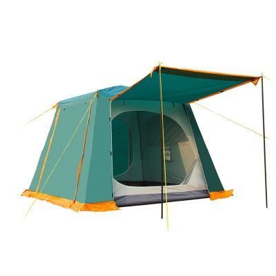 6~8 Person Larger 3-Season Cabin Instant Quick-pitch Tent for Hiking  sc 1 st  Pinterest & 6~8 Person Larger 3-Season Cabin Instant Quick-pitch Tent for ...