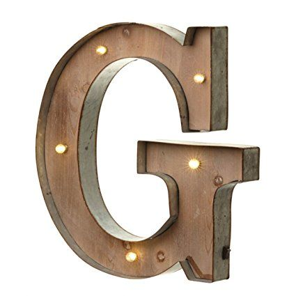 Nice Vintage Illuminated Carnival Lights   A Z   Choice Of Alphabet Letters ( Letter G)