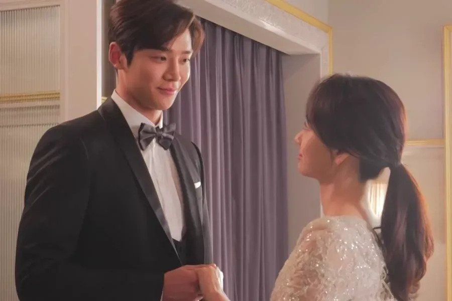 "Watch: Won Jin Ah And Rowoon Take Viewers Behind The Scenes Of Romantic Wedding In ""She Would Never Know"""