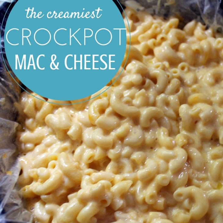 Easy Macaroni And Cheese Recipe In The Slow Cooker Recipe Yummly Recipe Easy Macaroni Recipes Cooker Recipes