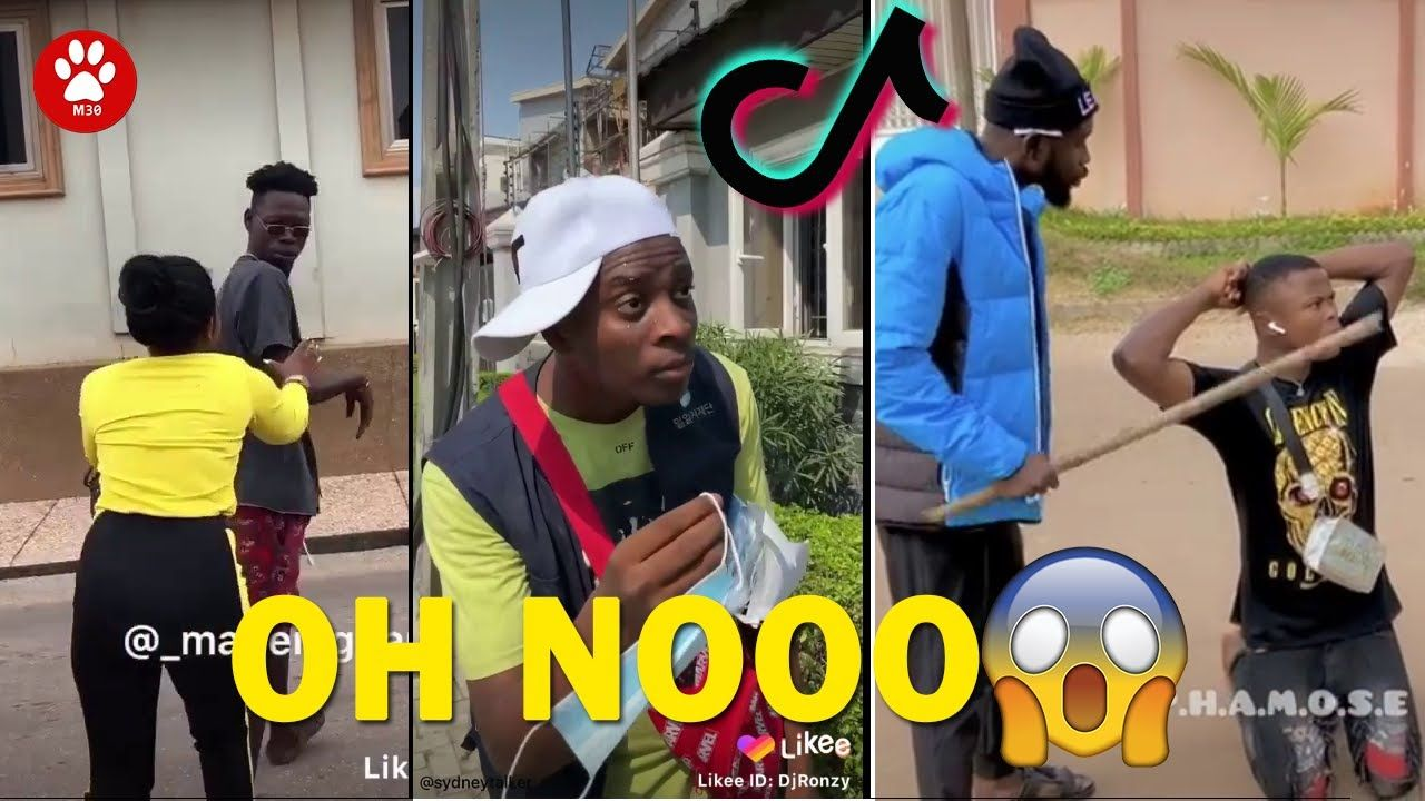 Tiktok Funny Laugh Challenge 2021 Tik Tok Oh Nooo Compilation Funny Ti In 2021 Funny Laugh Laugh Oh Nooo