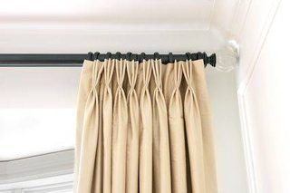 How To Use Drapery Pins With An Unpleated Drapery Panel Hunker