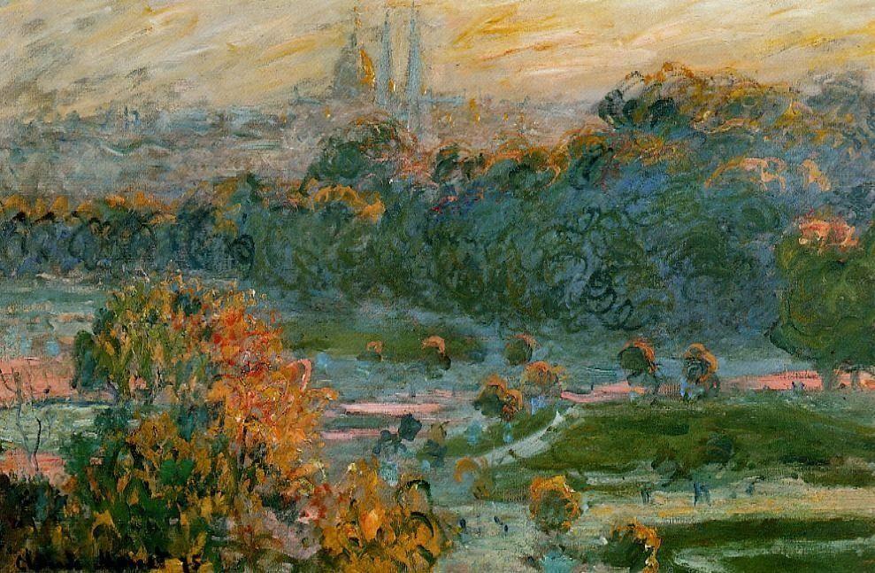 Claude Oscar Monet The Tuleries Study Aka Tuileries