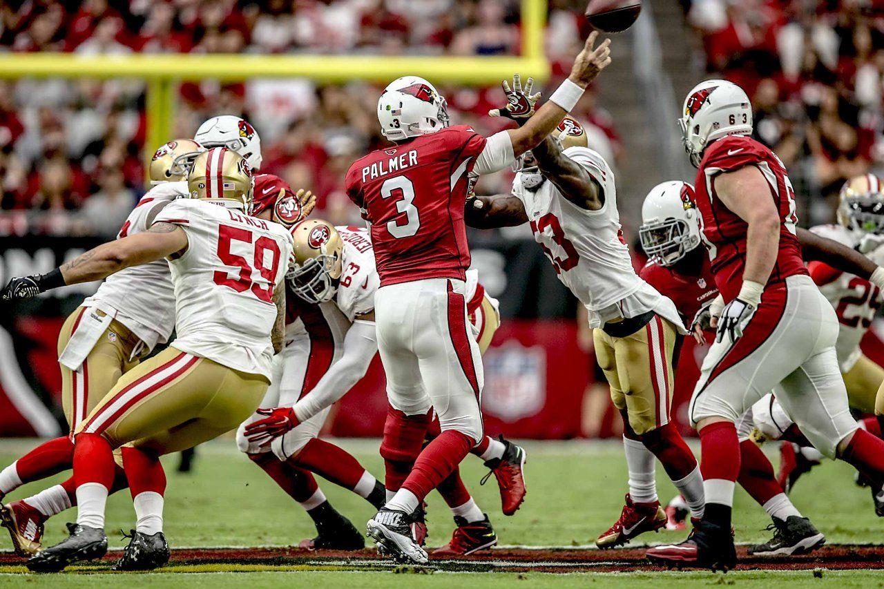 San Francisco 49ers vs. Arizona Cardinals 10/1/2017 NFL