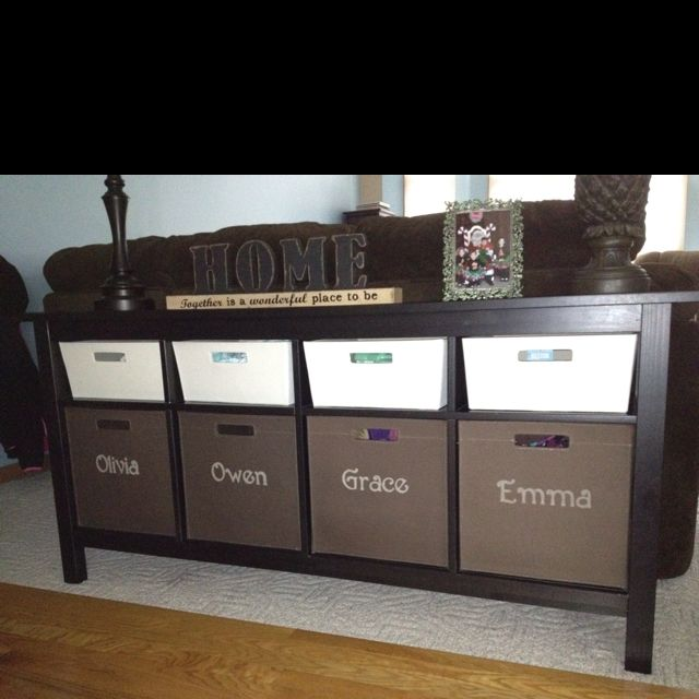 Beau Shoe Bin Storage By Front Entry, Finally Finished The Names!