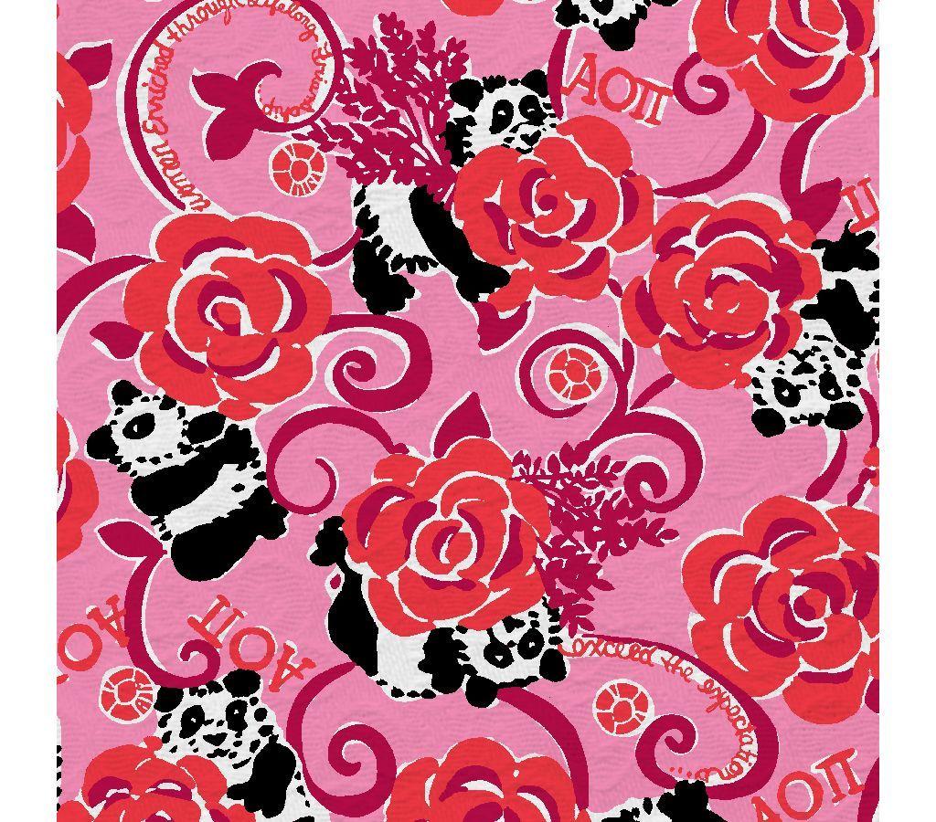 e95f28ac4613d8 Lilly Pulitzer wallpaper Pretty Pink Alpha Omicron Pi | Patterns We ...