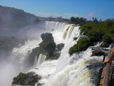Book a trip to Iguazu! http://wander-argentina.com/iguazu-falls-the-fury-of-nature/