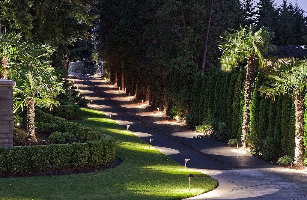 Driveway Lighting Design Ideas for Your Home and Business ... |Driveway Entry Lights