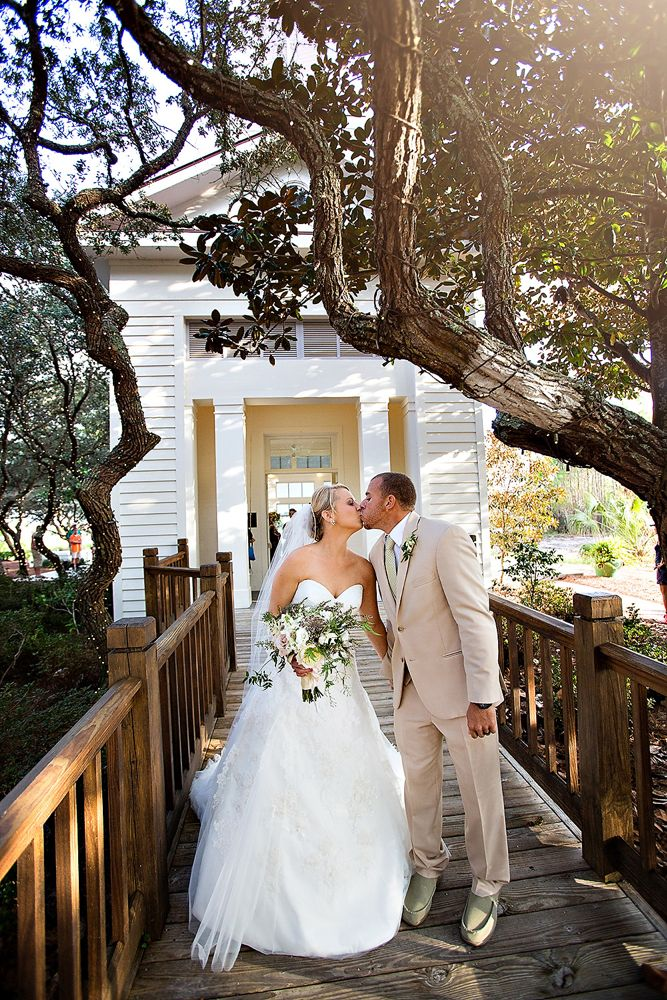 Real Wedding Sunset Dreams Panama city beach wedding