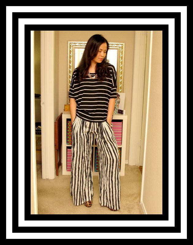 {Trends} Black and White Stripes