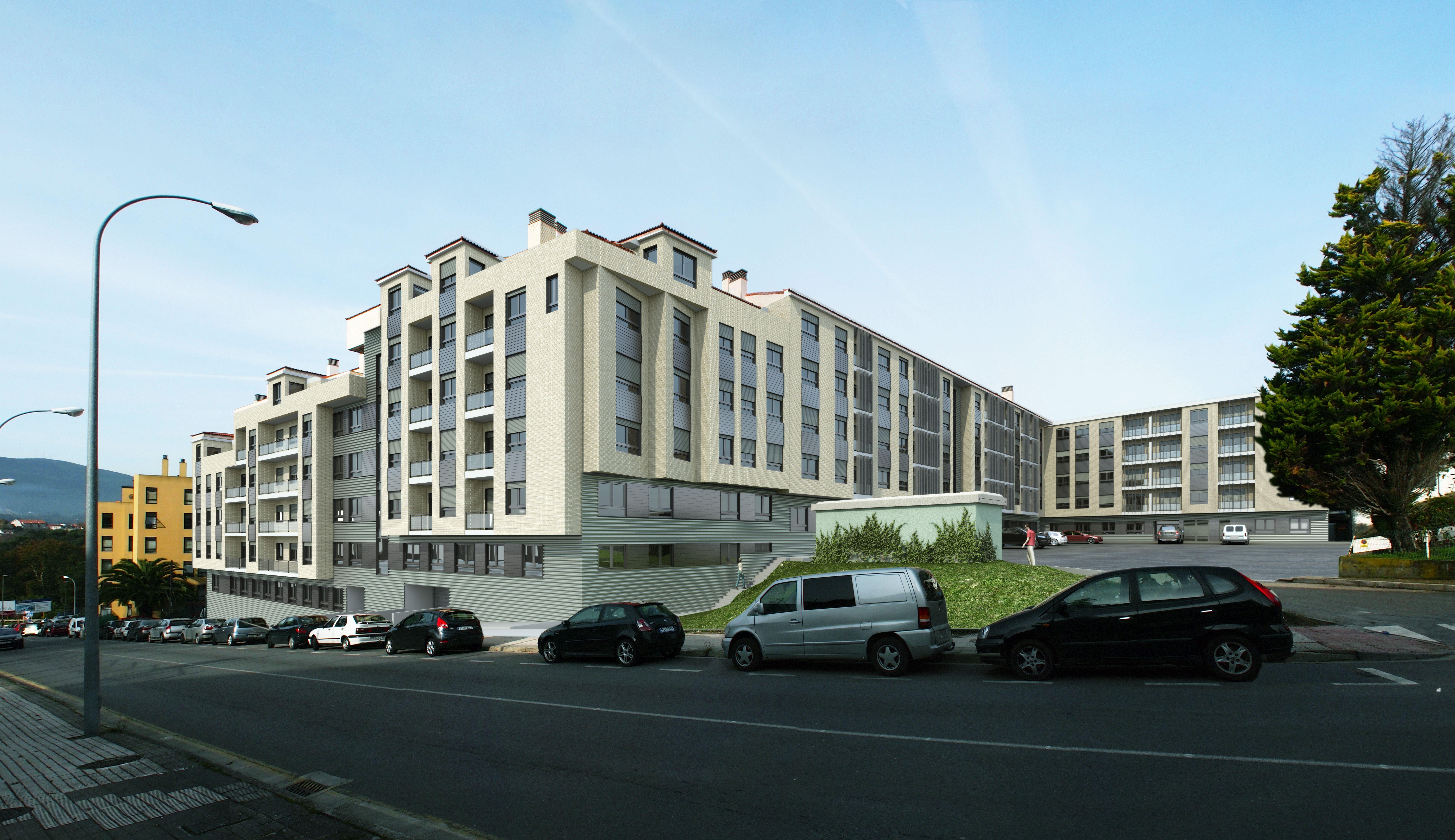 Recreación virtual de la promoción de #viviendas Playa Lérez en Pontevedra.  ¿Te gustaría conocer todos los detalles de las #viviendas? Sólo tienes que clicar sobre la imagen. En YouTube también puedes ver un vídeo, búscalo en Anida Vivienda.