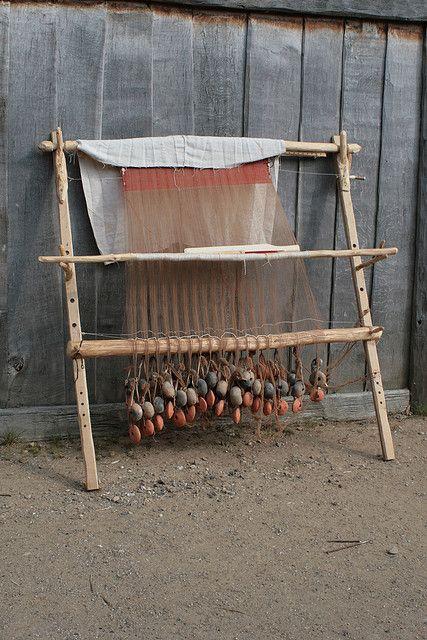 ww loom at Haithabu in 2009