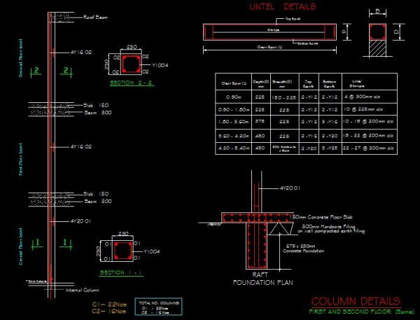 Structure Drawings Cad Library Autocad Blocks Autocad