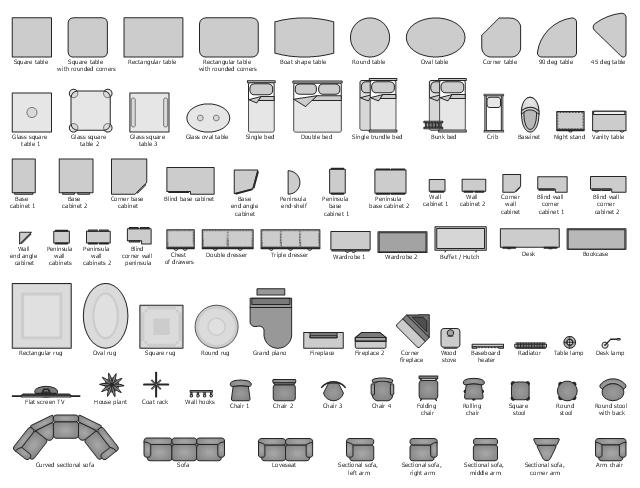 Design elements Basic furniture