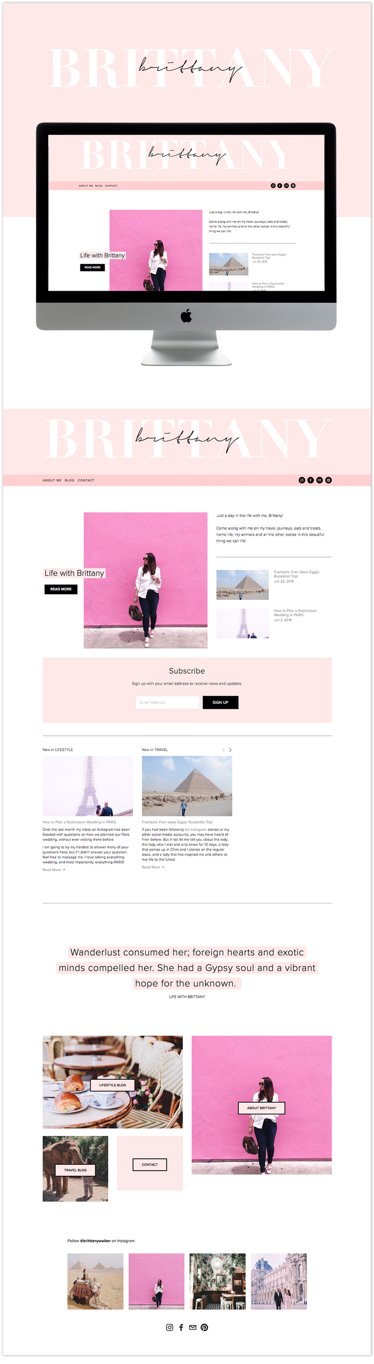 Best squarespace template custom and modern website templates