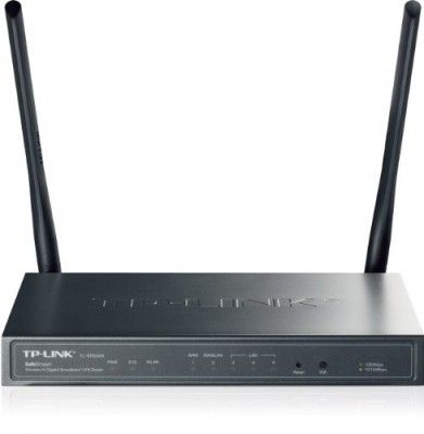 Roteator Wireless TP-LINK SafeStream Wireless N300 Gigabit VPN Router with 1GB WAN port, 3 GB LAN Ports, 1GB WAN/LAN Port and Multi-SSID (TL-ER604W) #Roteator #TP-LINK