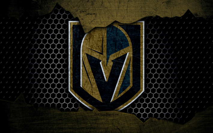 Download wallpapers Vegas Golden Knights f23a3eafd