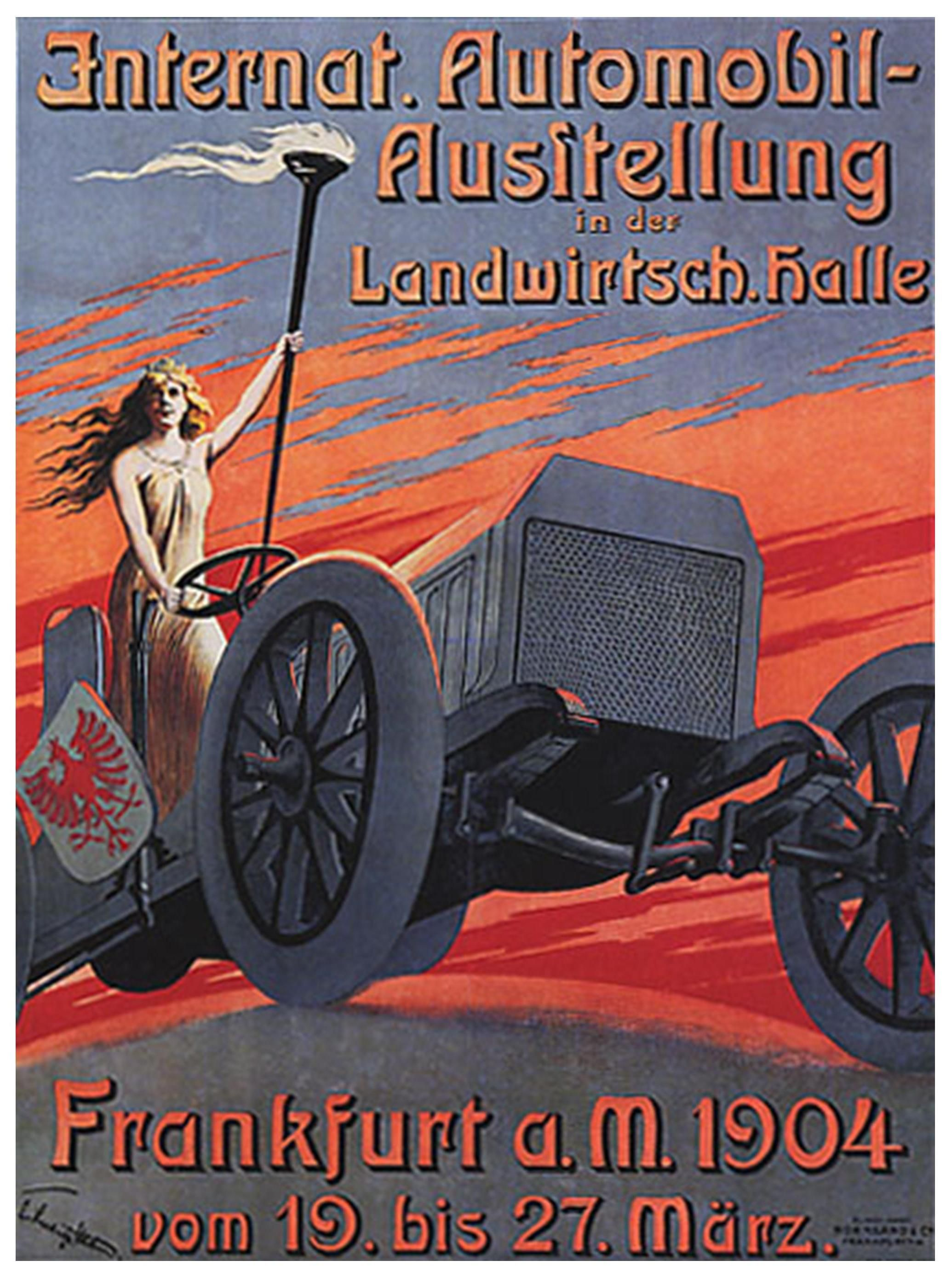 From \'50 Great Veteran Car Posters\' by Norman Clark, on www.amazon ...