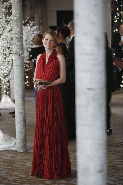 At Bailey S Wedding Season Nine Grey S Anatomy Pinterest Grey Bridesmaids Grey Bridesmaid Dresses Greys Anatomy