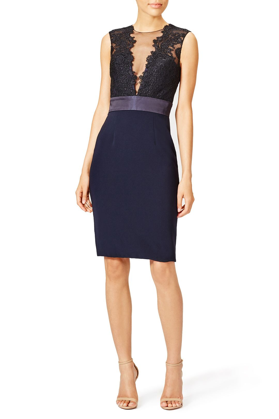 df2ddc1b Rent Deep Midnight Sheath by Theia for $100 only at Rent the Runway ...