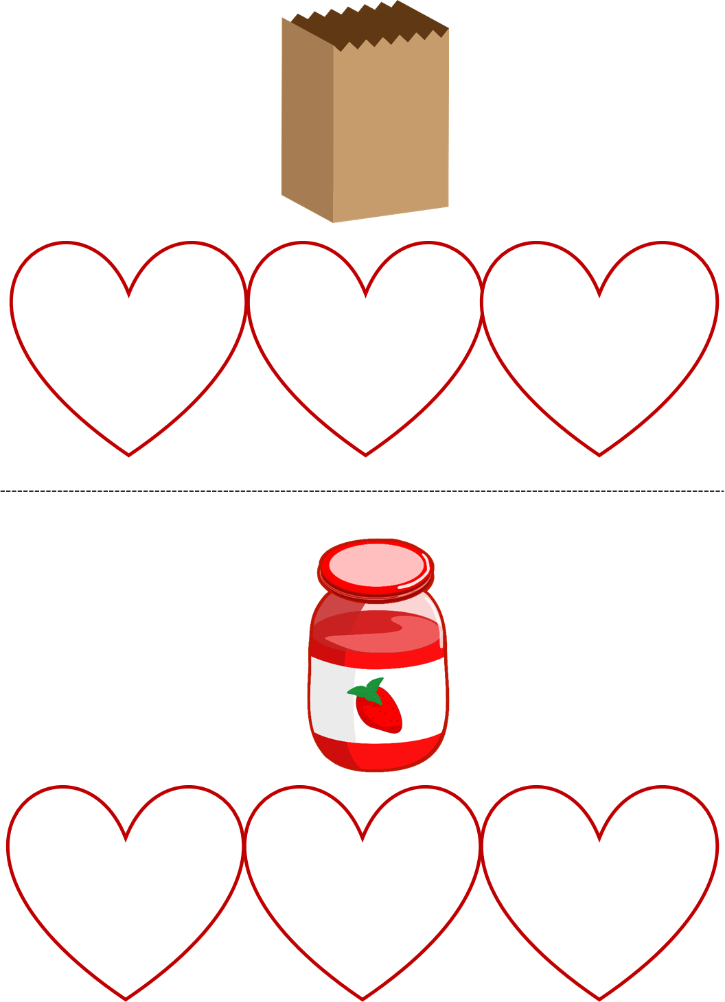 Valentine S Day Build Cvc Words February Literacy Center