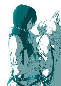 Annie x Reader x Mikasa Lemon/Short Stories AOT - Annie x Mikasa