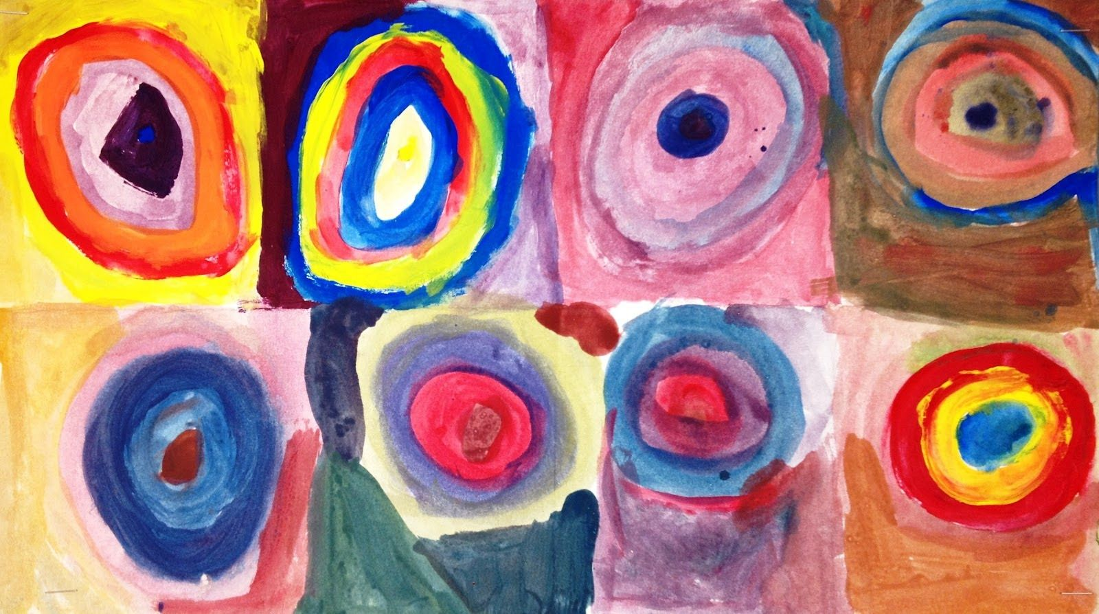 For The Love Of Art 1st Grade To Go Along With Study Of Kandinsky