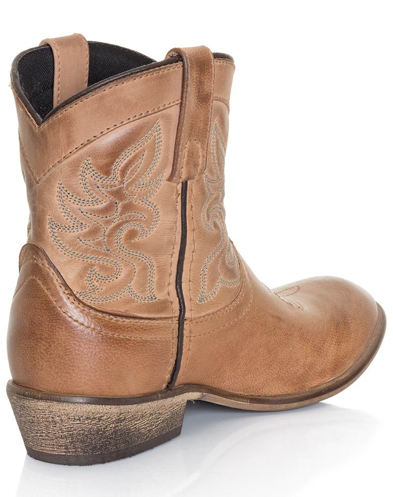 d3901c21288 Dingo Womens Willie Ankle Cowboy Boots - Antique Tan in 2019 | Kicks ...