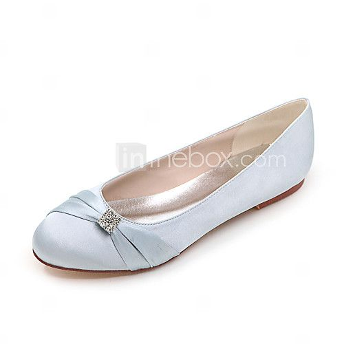Women's Spring / Summer / Fall / Winter Round Toe Satin Wedding / Casual /  Party